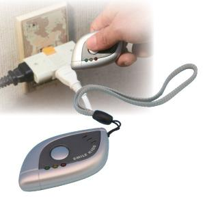 小型盗撮・盗聴発見器 電池式 切り替えスイッチ付き|mdmoko
