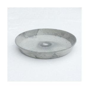アートストーン ラウンドソーサー グレー 18cm 〔4個入り〕/専用受皿|mdmoko