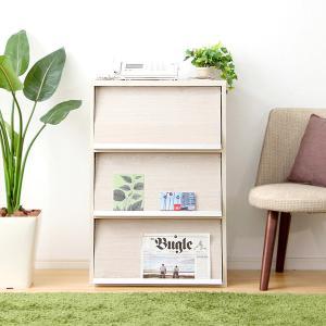 ディスプレイラック 木製 本棚 オープン キャビネット|mdmoko