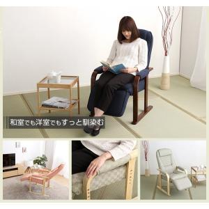 座椅子 高座椅子 リクライニング 老人  高齢者 リクライニ|mdmoko
