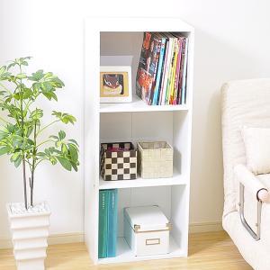 カラーボックス 3段 安い 収納 スリム|mdmoko