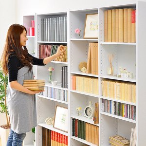 本棚 大容量 マガジンラック 薄型 木製 スリム おしゃれ|mdmoko