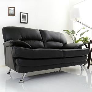 2人掛け ソファ レザー ソファー 合皮 安い ロータイプ|mdmoko