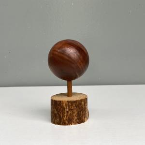 ハイエース専用 木製シフトノブ 200系 ウォルナット 球体 インテリア アルファート20系|mdnmadonna