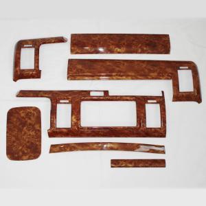 【訳アリ商品】200系 ハイエース 3型 ウッドインテリアパネル 7ピース 1型 2型 3型 標準 ナローボディ用 S-GL 茶木目|mdnmadonna