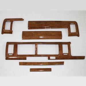 【訳アリ商品】 インテリアパネル 6ピース 茶木目 ウッドインテリアパネル ハイエース 200系 1型 2型 3型 ワイドボディ用 S-GL 内装 パーツ インテリア|mdnmadonna