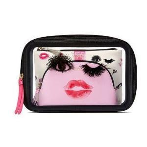 VICTORIA'S SECRET PINK ヴィクトリアシークレット メイクポーチ 化粧ポーチ B...