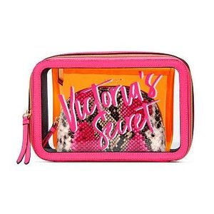 VICTORIA'S SECRET PINK ヴィクトリアシークレット メイクポーチ 化粧ポーチ N...