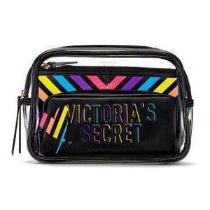 VICTORIA'S SECRET PINK ヴィクトリアシークレット メイクポーチ 化粧ポーチ R...
