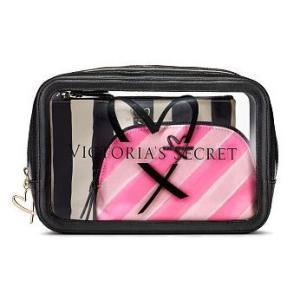 VICTORIA'S SECRET PINK ヴィクトリアシークレット メイクポーチ 化粧ポーチ V...