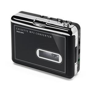 サンワダイレクト カセットテープ MP3変換プレーヤー カセットテープデジタル化 コンバーター 40...