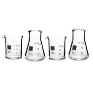 ラボラトリーショットグラス(4個) Periodic Tableware|measureworks