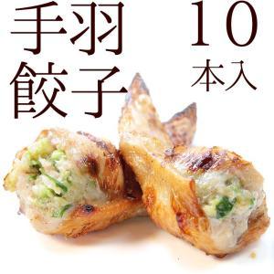 手羽先餃子 10本入 手羽餃子 冷凍 業務用 宮崎県 お取り寄せ 人気には訳あり 食品 グルメ ギフト