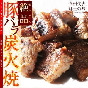 おつまみ ぜっぴん豚バラ炭火焼 100g×2 焼き豚 お花見
