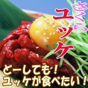 さくらユッケ 馬刺しのユッケ/ユッケ/馬刺し/生肉/馬肉/さくら肉/桜肉/|meat-gen