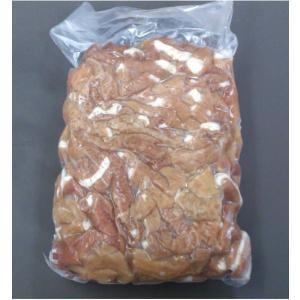 国産 豚切りモツ1kg(ボイル済) 1kg豚小腸/豚もつ/豚ホルモン/豚腸|meat-gen