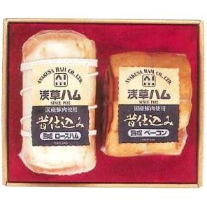 送料無料/お歳暮お中元に浅草ハムギフト AJ−65B    浅草で生まれて80余年、伝統の味|meat-gen