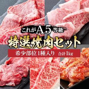 『A5ランク 牛肉 和牛 訳あり 焼肉/バーベキューセット 1kg』 訳あり 国産黒毛和牛 焼き肉/BBQ 牛カルビ 牛ロース