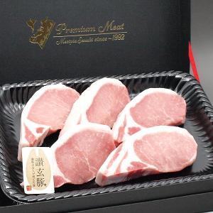 国産豚肉 ロースとんかつ トンカツ テキカツ用130gx5枚 木箱入り/お祝い ギフト 贈り物においしい香川県産の豚肉 「讃玄豚」|meatpiasanuki