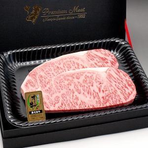 和牛 オリーブ牛 サーロインステーキ200g-220g×2枚 木箱入(お祝い ギフト 贈り物)に香川のブランド和牛 サーロインステーキギフト|meatpiasanuki
