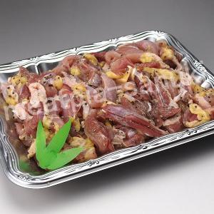 国産親鳥をピリッとした香辛料で味付けした「スパイシーチキン」500g|meatpiasanuki