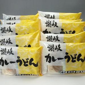冷凍讃岐うどん(カレーうどん) 10食セット...