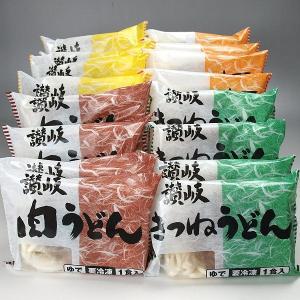 冷凍讃岐うどん、具入りうどんセット 16食入|meatpiasanuki