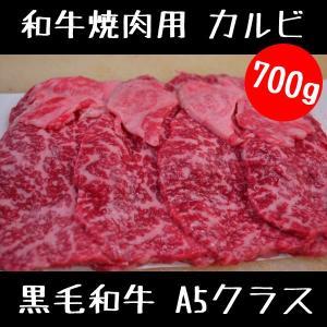 牛肉 和牛 焼肉 バーベキュー カルビ 700g スライス セット|meatshopitou298