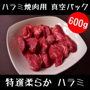 牛肉 特選柔らか ハラミ 焼肉用 600g スライス セット ( 焼肉 BBQ バーベキュー )|meatshopitou298