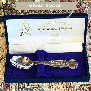 出産祝い 誕生日 クリスマスプレゼント ギフト 純銀 名入れ メモリアルスプーン ファーストスプーン|mebon-hiding