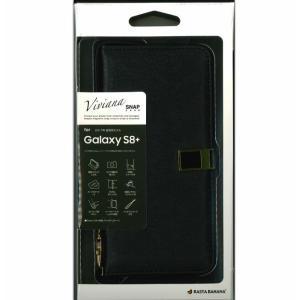 docomo GALAXY S8+ SC-03J 手帳型ケース ハード ドコモ ブラック スマホケー...