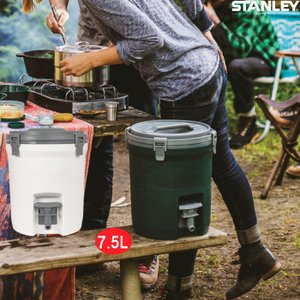 ウォータージャグ 7.5L ウォーターサーバ 保冷 大容量 ハンドル付 アイスキャッチ付 水タンク タンク アウトドア キャンプ ピクニック スポーツ スタンレー|mecu