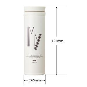アルファベットタンブラー スリム 350ml THERMOS サーモス マグボトル 水筒 保温 保冷 直飲み タンブラー マグ おしゃれ 軽量 アウトドア BRUNO ブルーノ|mecu|09