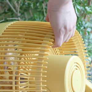 3Dターボサーキュレーター ターボモード搭載 静音 サーキュレーター 扇風機 上下左右 首振り リビング リズムモード パワフル 送風 家電|mecu|06