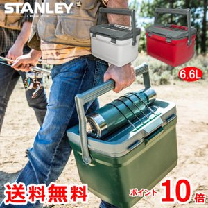 STANLEY クーラーボックス 6.6L 小型 ランチクーラー COOLER BOX 大容量 保冷力 保温 収納 アウトドア キャンプ 釣り 運動会 レジャー スタンレー おしゃれ|mecu