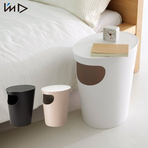 エノッツ サイドテーブル ENOTS Side Table ゴミ箱 9.4L ごみ箱 ダストボックス 収納 寝室 ベッド 収納用品|mecu