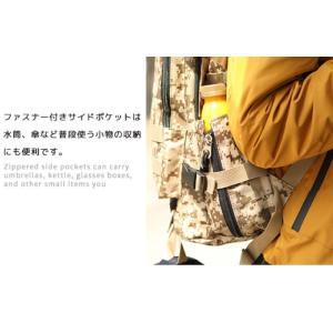 マルチリュック ホルダー付き PC収納付 リュック リュックサック バックパック 40L 鞄 ザック ポケット トレッキング 登山 旅行 アウトドア 遠足 男女兼用|mecu|05