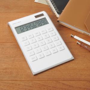IDEA LABEL 10D カリキュレーター 電卓 卓上電卓 計算機 電子計算機 使いやすい 大きい デザイン文具 文房具 事務用品 ビジネス 北欧 おしゃれ|mecu|02