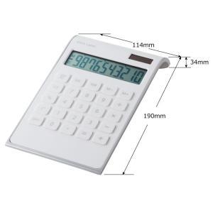 IDEA LABEL 10D カリキュレーター 電卓 卓上電卓 計算機 電子計算機 使いやすい 大きい デザイン文具 文房具 事務用品 ビジネス 北欧 おしゃれ|mecu|04