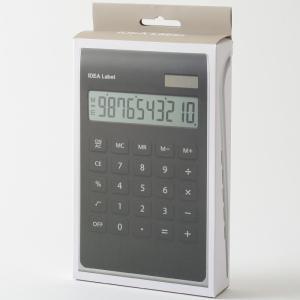 IDEA LABEL 10D カリキュレーター 電卓 卓上電卓 計算機 電子計算機 使いやすい 大きい デザイン文具 文房具 事務用品 ビジネス 北欧 おしゃれ|mecu|05