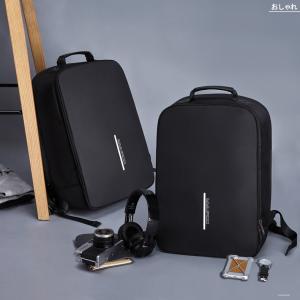 ビジネスリュック 大容量 USB充電ポート付き パソコンリュック 防水 ビジネスバッグ PCリュック リュックサック デイパック 軽量 収納 ビジネス 通勤 通学 出張|mecu|07
