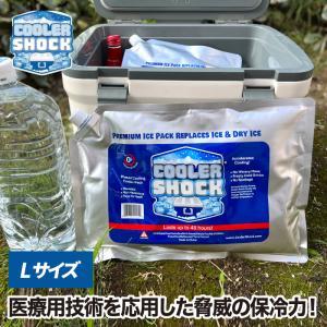 【2枚以上 送料無料】cooler shock L クーラーショック 保冷剤 アイスパック 保冷材 長時間 氷点下 保冷パック クーラーボックス クーラーバッグ ジェル|mecu