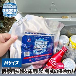 cooler shock M クーラーショック 保冷剤 アイスパック 保冷 長時間 氷点下 保冷パック クーラーボックス ランチボックス ジェル アウトドア 登山 バーベキュー|mecu