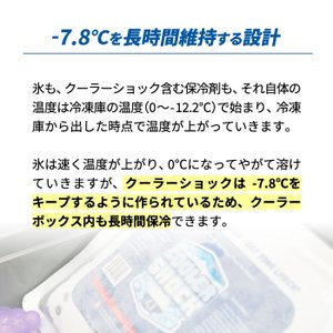 cooler shock S クーラーショック 保冷剤 アイスパック 保冷 長時間 クーラーパック 保冷パック クーラーボックス クーラーバッグ ランチボックス アウトドア|mecu|04
