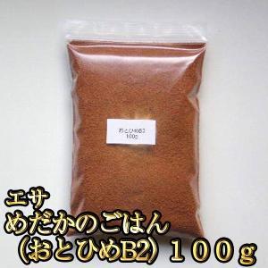 メダカ / エサ / めだかのごはん(おとひめB2) 100グラム 限定大特価