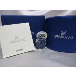 SWAROVSKI スワロフスキー フクロウモチーフ オブジェ 置物|medamaya