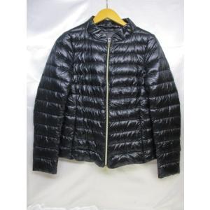 HERNO ヘルノ ダウンジャケット サイズ42 ネイビー レディース ルーマニア製|medamaya