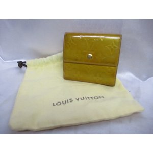 LOUIS VUITTON ルイヴィトン 折り畳み財布 黄色 イエロー レディース 袋付き|medamaya