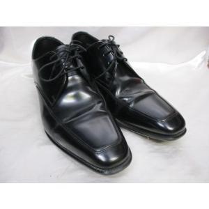 REAGAL リーガル Uチップ ビジネスシューズ 24.5cm  ブラック 黒 727R 日本製 紳士用|medamaya