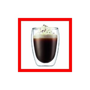 bodum Pavina ダブルウォール保温グラス0.35L 2個セット 4559-10